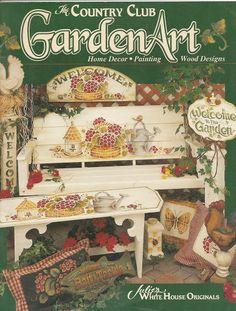 Garden Art - Country Club - TEREPINTURA - Picasa Web Albums...FREE BOOK!!