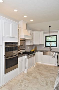 Kountry Wood Products, Maple, White finish, Vanderburgh door style Kitchen Cabinetry, White Cabinets, Design Firms, Kitchens, Wood, Home Decor, Products, Style, Kitchen Cabinets