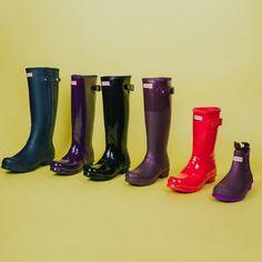 Hunter Original Tall Womens Wellington Boots Wellies COFFEE//BROWN MATT