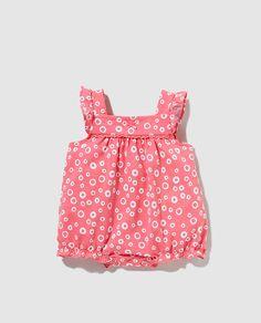 14,95€ Pijama de bebé niña Cotton Juice con flores EL CORTE INGLES
