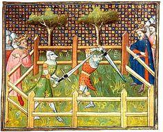 14th century sword duel