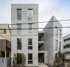 Apartment House in Sakurashinmachi / abanba Apartment Furniture Layout, Ground Floor Plan, Small Towns, Multi Story Building, Floor Plans, Exterior, Japan, Architecture, Gallery