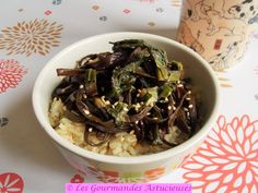 Haricots de mer et bourrache à l'asiatique (Vegan)