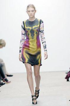 Marios Schwab Spring 2008 Ready-to-Wear Fashion Show - Isabel Brismar Lind