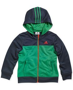 adidas Little Boys' Climawarm Block Jacket