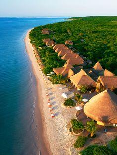 Bazaruto Archipelago, Mozambique. The Bazaruto Archipelago is a group of six islands in Mozambique, near the mainland city of Vilankulo.
