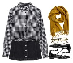 """""""fall in deep"""" by winterlilac12 ❤ liked on Polyvore featuring Topshop, Hermès and Stuart Weitzman"""