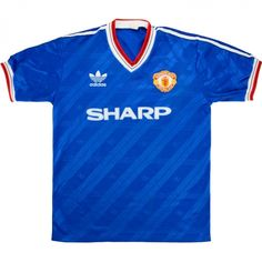 c97dd8004aa 1986-88 Manchester United Third Shirt (Very Good) M - Classic Retro Vintage Football  Shirts