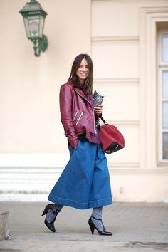 Natasha Goldenberg wearing Sandy Liang and Loewe - HarpersBAZAAR.com