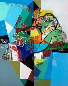 Yoel Benharrouche - Le calme de mon jardin secret - Eden Fine Art Gallery