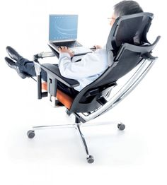 M Position office chair - unique functionality and ideal for todays modern workplace Swivel Office Chair, Office Chairs, Office Seating, Workplace, Baby Strollers, Positivity, Cool Stuff, Interior, Tech