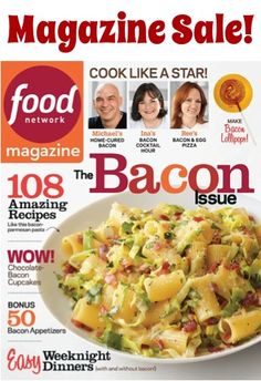 Food Network Magazine Sale: $1.50 per issue!