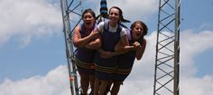 Xtreme SkyFlyer. Experience the breathtaking thrill of hang gliding and skydiving at the same time as you dive at speeds up to 60 miles per hour while free-falling 17 stories toward the Earth, skimming just six feet above the ground!