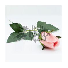 botão de rosa artificial de veludo vermelho rosa - Um Dia Muito Especial | Decoração delicada e romântica para a sua festa
