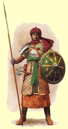 m Fighter Royal Army shield spear arabian men medieval Armadura Medieval, Medieval Armor, Medieval Fantasy, Character Inspiration, Character Art, Persian Warrior, Arabian Knights, Fantasy Armor, Dark Ages