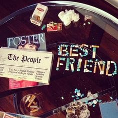Best Friend by Foster the People is such a catchy, fun sounding tune.  It's such feel-good music. Love, love, love.