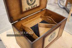 Custom US Navy Retirement gift