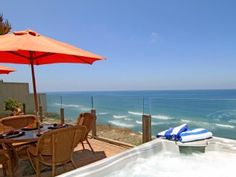 Single family 8br, 6.5ba home on the ocean, private spa, fireplace, patioVacation Rental in Encinitas from @HomeAway! #vacation #rental #travel #homeaway