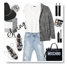 White tshirt and a jean is always a good idea. by gul07 on Polyvore featuring polyvore fashion style H&M Banana Republic stylebyyam Rebecca Minkoff Moschino Tom Ford Topshop BeckSöndergaard Chanel Marc Jacobs clothing