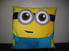 Despicable Me Minion Pillow, I really think I need this, I really really do.