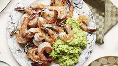 """Pesto is great for entertaining because you can make it up to a day in advance,"" says David Kinch, chef and owner of Manresa in Los Gatos, California. ""It tastes even better as the flavors marry—and then all you have to do is cook the shrimp right before serving."""