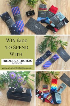 Win to Spend With Frederick Thomas London in our Father's Day Giveaway! Fathers Day, Giveaway, Competition, The 100, In This Moment, London, Father's Day
