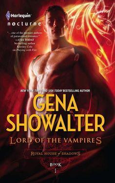 A vampire genre book by Gena Showalter