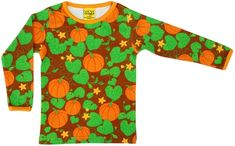 Beautiful t-shirt by Duns Sweden with an all over pumpkin print. Turquoise Shirt, Game Day Shirts, Leopard Shorts, T Shirts For Women, Clothes For Women, Tank Top Shirt, Sweden, Halloween 2018, Pregnancy