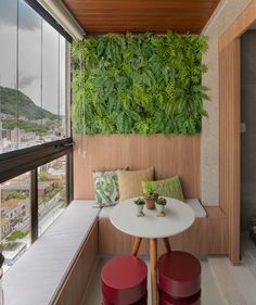 9 Balcony Ideas That Will Spice Up Your Outdoor Apartment Life - Homes N Away Small Balcony Decor, Small Balcony Design, Balcony Ideas, Small Balcony Furniture, H Design, House Design, Apartment Balconies, Apartment Walls, Outdoor Furniture Sets