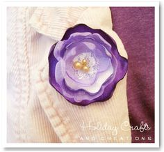 http://www.holiday-crafts-and-creations.com/how-to-make-fabric-flowers.html