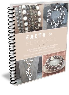 Book: Earth & Elegance ~ A Bohemian's Guide to Creating Artisan Leather Jewelry