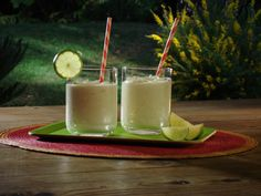 Key Lime Tequila Milkshake from FoodNetwork.com
