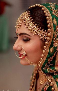 bridal jewelry for the radiant bride Indian Bridal Fashion, Indian Bridal Makeup, Indian Bridal Wear, Pakistani Bridal, Bridal Lehenga, Vintage Wedding Jewelry, Indian Wedding Jewelry, Bridal Jewelry, Indian Jewelry