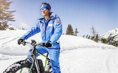 E-Fatbiken mit der CSA Skischule Silvia Grillitsch Winter Jackets, Ice Climbing, Long Distance, Ski Trips, Winter Vacations, Winter Coats, Winter Vest Outfits