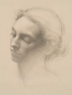D. Jeffrey Mims ~ Head Study II (charcoal, graphite, chalk)