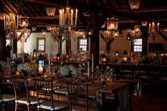floral wedding barn chandelier - Google Search