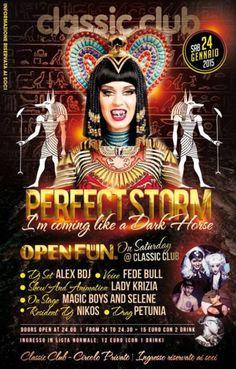 Nuova serata di musica e divertimento senza limiti al Classic Club Rimini. Sabato 24 gennaio 2015 arriva la tempesta perfetta.