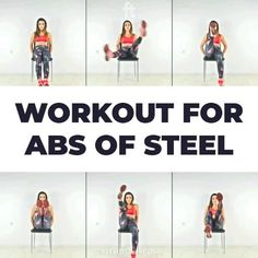 Fitness Workouts, Gym Workout Videos, Gym Workout For Beginners, Fitness Workout For Women, Sport Fitness, Easy Workouts, At Home Workouts, Studio Workouts, Woman Fitness