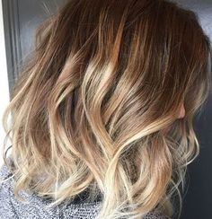 ombre-hair-18 Ombre Haïr, Summer Goals, Blonde Highlights, Balayage, Long Hair Styles, Color, Simple Hairstyles, Barber, Hairdos