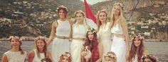 L'abito nuziale personalizzato con l'idea wedding. Un romantico matrimonio in stile bohémien