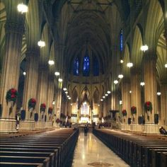 St. Patrick's Cathedral at Christmas