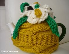 TeaPot Cozy Knitted by IskaCreations, $29.00