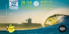 Surf: Allianz Billabong Pro Cascais encerra perna europeia do Qualifying Series | 28 de setembro – 4 de outubro 2015 | Câmara Municipal de Cascais