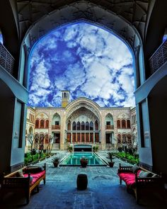 سراي عامري ها كاشان Ameris' mansion in Kashan Iran