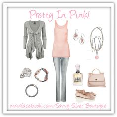 Pretty In Pink! Featuring Silpada Designs Jewelry.