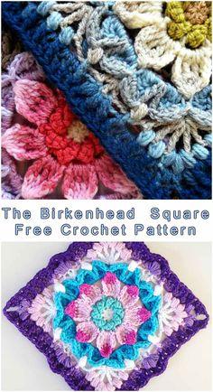 The Birkenhead Crochet Square   DIY