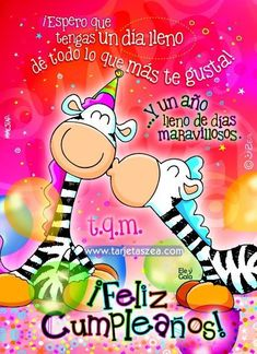 Happy Birthday In Spanish, Happy Birthday Cards, Birthday Wishes, Pizza Day, Love Life Quotes, Ideas Para Fiestas, Happy B Day, Lets Celebrate, Birthday Quotes