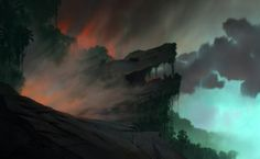 Art of Animation | theanimationarchive: Production Backgrounds for...
