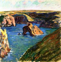 Belle-Ile ~ Claude Monet