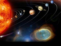 Space Sun Jupiter Planet 3 Size Silk Fabric Canvas Poster Print